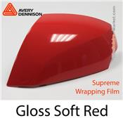 "Avery Dennison Wrap Film ""Gloss Soft Red"