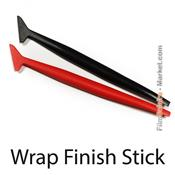 Wrap finish stick