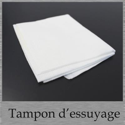 Tampon d'essuyage