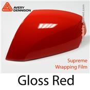 "Avery Dennison Wrap Film ""Gloss Red"