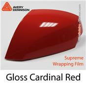 "Avery Dennison Wrap Film ""Gloss Cardinal Red"