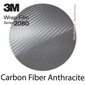 3M 2080 CFS201 Film Covering Carbone Fiber Anthracite