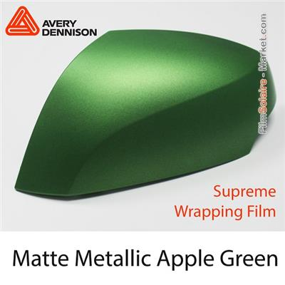 "Avery Dennison Wrap Film ""Matte Metallic Apple Green"