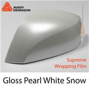 "Avery Dennison Wrap Film ""Gloss Pearl White Snow"