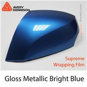 "Avery Dennison Wrap Film ""Gloss Metallic Bright Blue"