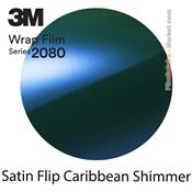 3M 2080 SP276 Film Covering Satin Flip Caribbean Shimmer