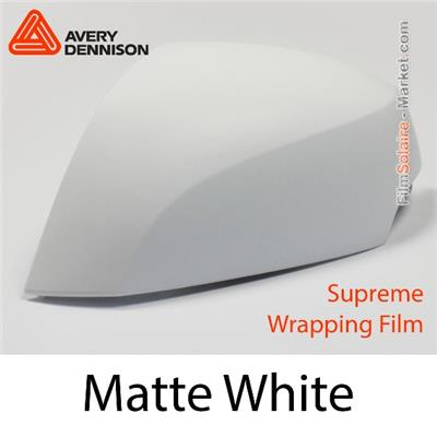"Avery Dennison Wrap Film ""Matte White"