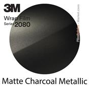 "3M 2080 M211 - Wrap Film ""Matte Charcoal Metallic"