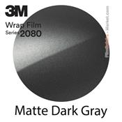 "3M 2080 M261 - Wrap Film ""Matte Dark Gray"
