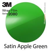 "3M Wrap Film ""Satin Apple Green"