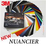 Nuancier 3M - Wrapping Films 1080, 1380, 8900