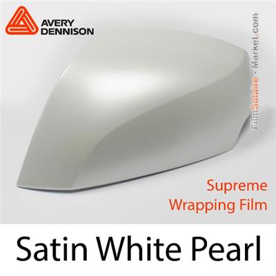 "Avery Dennison Wrap Film ""Satin Pearl White"