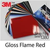"3M Wrap Film ""Gloss Flame Red"
