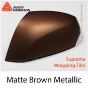 "Avery Dennison SWF ""Matte Metallic Brown"""