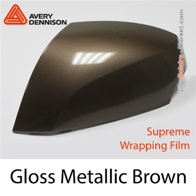 "Avery Dennison SWF ""Gloss Metallic Brown"""