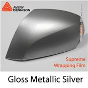 "Avery Dennison Wrap Film ""Gloss Metallic Silver"