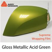 "Avery Dennison Wrap Film ""Gloss Metallic Acid Green"