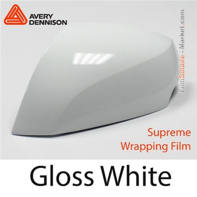 "Avery Dennison Wrap Film ""Gloss White"