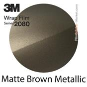 "3M 2080 M209 - Wrap Film ""Matte Brown Metallic"