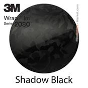3M 2080 SB12 Film Covering Shadow Black