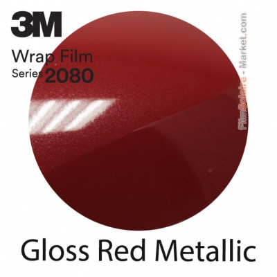3M 2080 G203 - Gloss Red Metallic