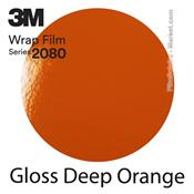 "3M Wrap Film ""Gloss Deep Orange"