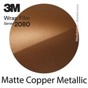 "3M 2080 M229 - Wrap Film ""Matte Copper Metallic"