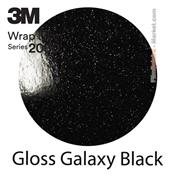 "3M Wrap Film ""Gloss Galaxy Black"
