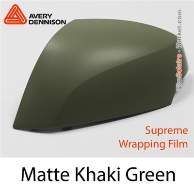 "Avery Dennison Wrap Film ""Matte Khaki Green"