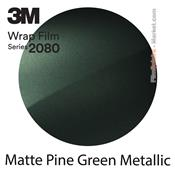 "3M Wrap Film ""Matte Pine Green Metallic"