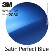 3M 2080 S347 - Satin Perfect Blue