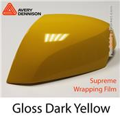 "Avery Dennison Wrap Film ""Gloss Dark Yellow"