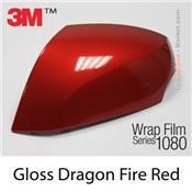 "3M Wrap Film ""Gloss Dragon Fire Red"