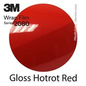 "3M Wrap Film ""Gloss Hotrot Red"