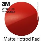 "3M Wrap Film ""Matte Hotrod Red"