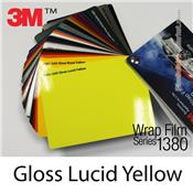 "3M Wrap Film ""Gloss Lucid Yellow"