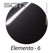 SOTT Elemento 6 Film covering Carbone Gloss