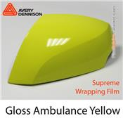 "Avery Dennison Wrap Film ""Gloss Ambulance Yellow"