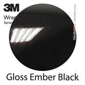 "3M Wrap Film ""Gloss Ember Black"