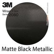 "3M Wrap Film ""Matte Black Metallic"