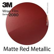 "3M Wrap Film ""Matte Red Metallic"