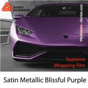"Avery Dennison Wrap Film ""Satin Metallic Blissful Purple"
