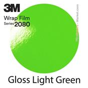 "3M Wrap Film ""Gloss Light Green"