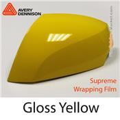 "Avery Dennison Wrap Film ""Gloss Yellow"
