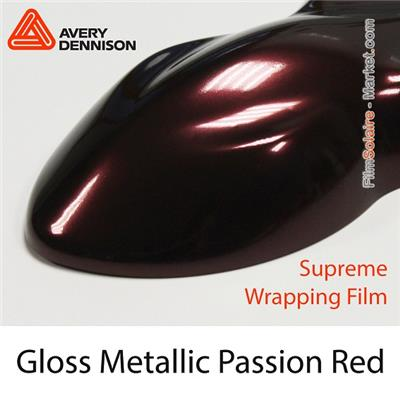 "Avery Dennison SWF ""Gloss Metallic Passion Red"""