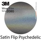 3M 2080 SP281 Film Covering Satin Flip Psychedelic