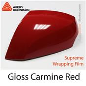 "Avery Dennison Wrap Film ""Gloss Carmine Red"