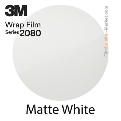 "3M Wrap Film ""Matte White"