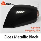 "Avery Dennison Wrap Film ""Gloss Metallic Black"