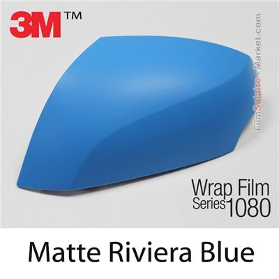 "3M Wrap Film ""Matte Riviera Blue"